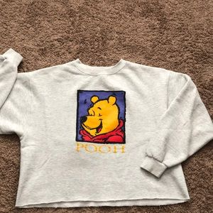 "Vintage Disney ""Pooh"" cropped sweater ."